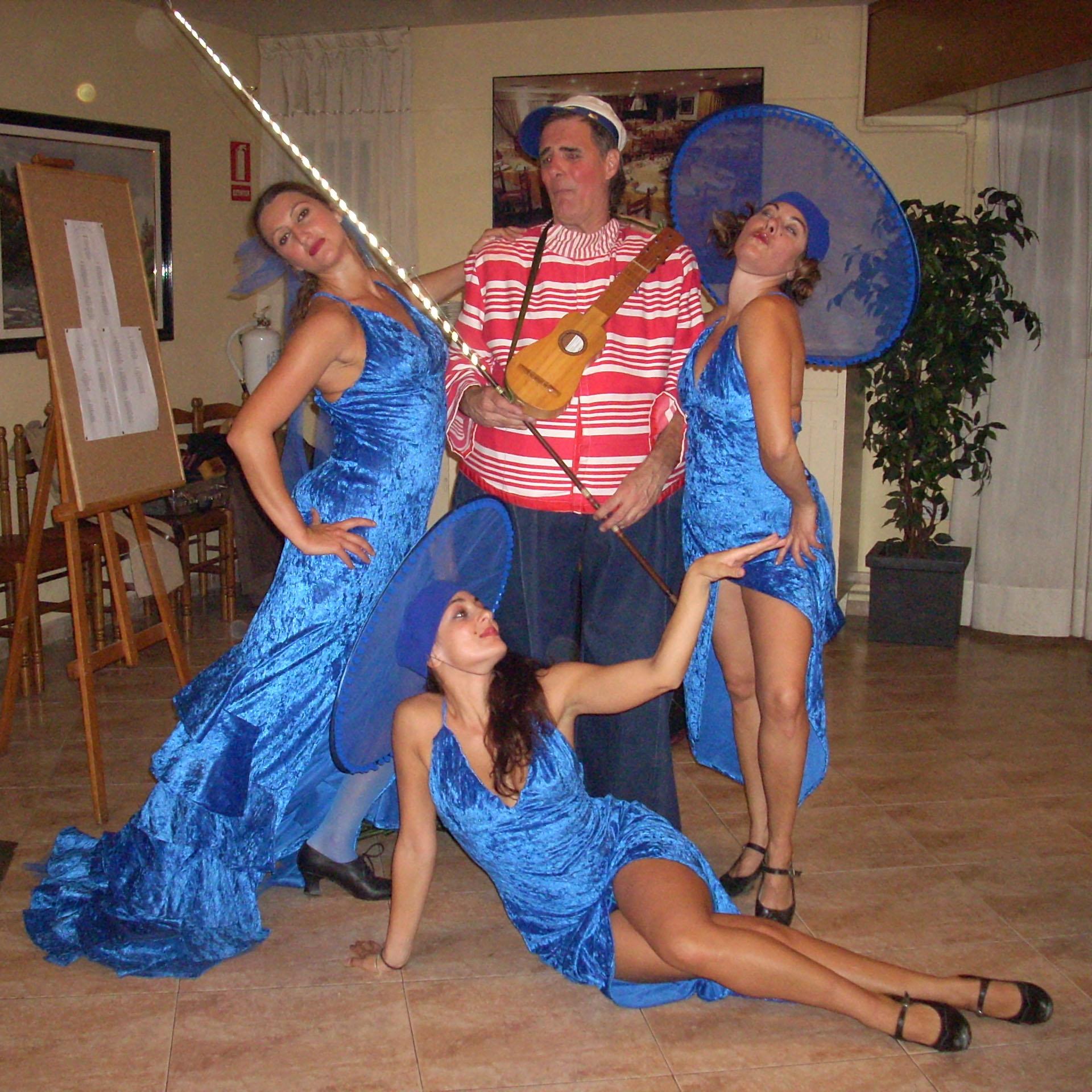 artristas azul pescador
