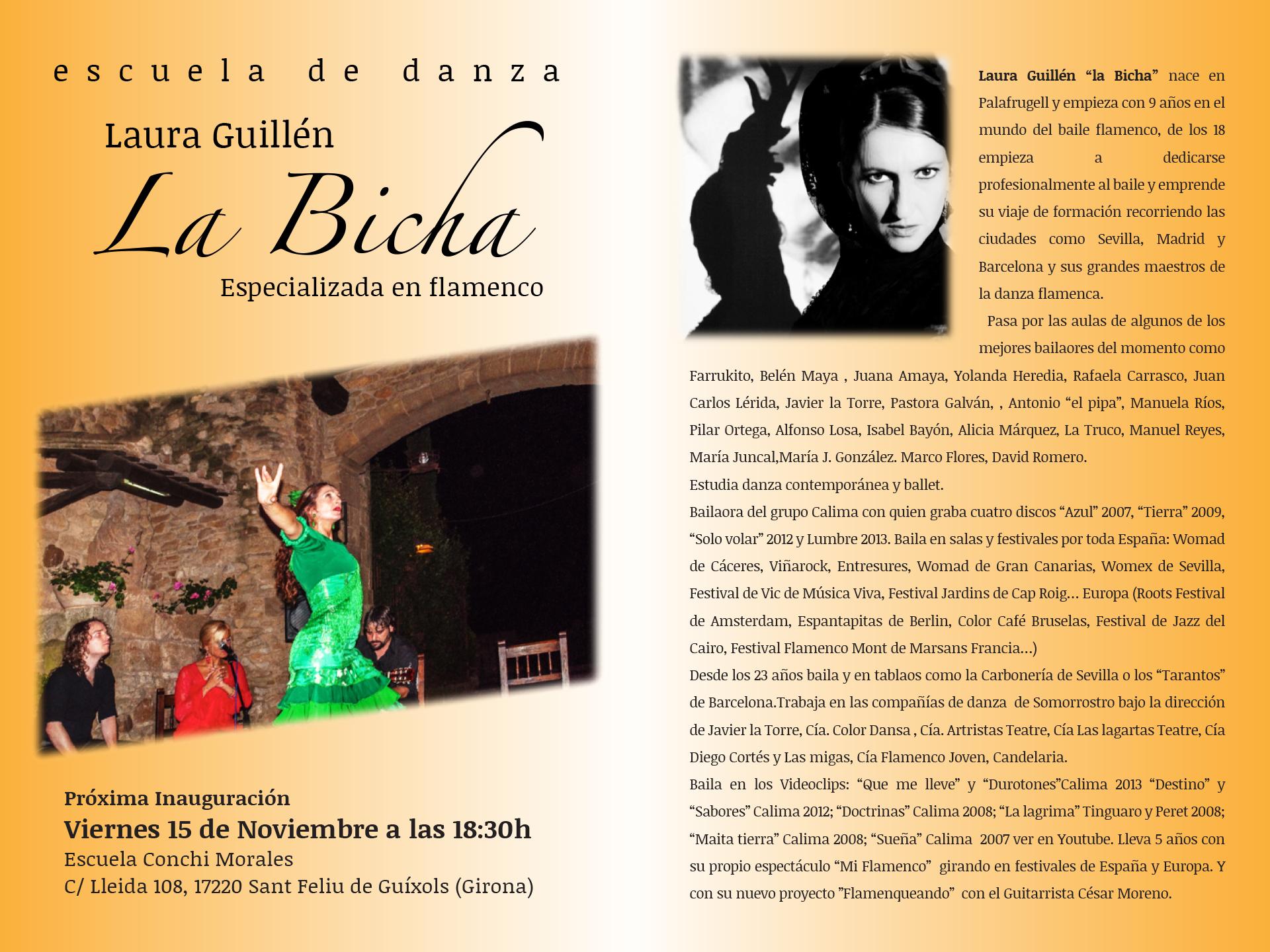 la Bicha - Banner Web Inauguració Sant Feliu